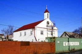 Jedyny kościół katolicki w Kirgizstanie