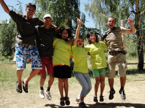 Holiday camps for teenagers